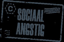 Stempel sociaal angstig